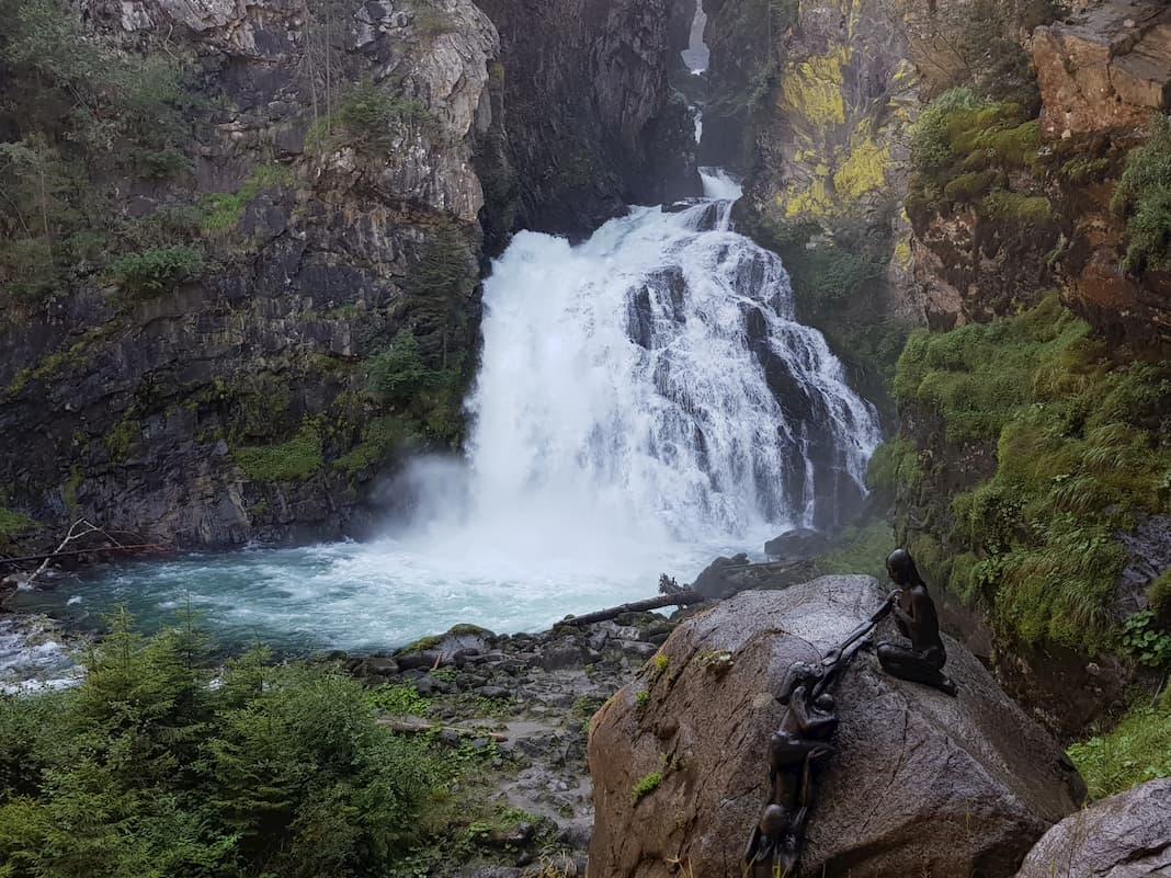 Cascate di Riva nei pressi di Campo Tures