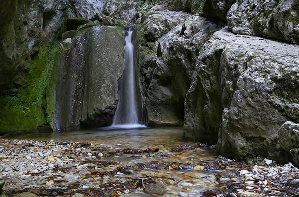 La cascata della Gola di Jana