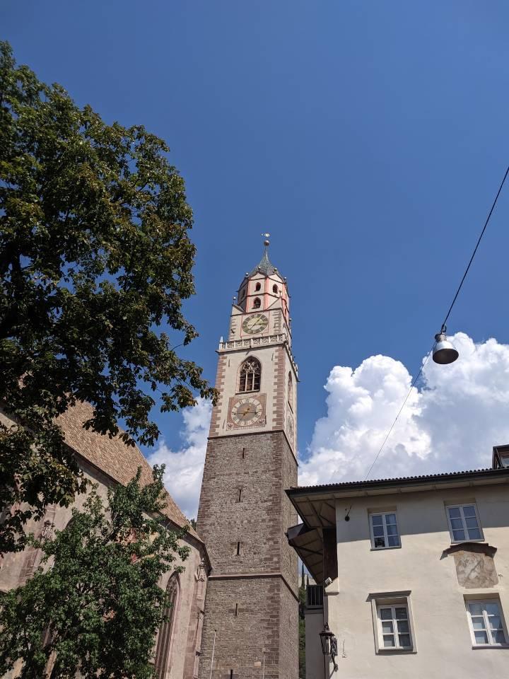 Il campanile del Duomo di San Nicolò