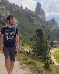 Escursione dal Passo Gardena al Rifugio Jimmy