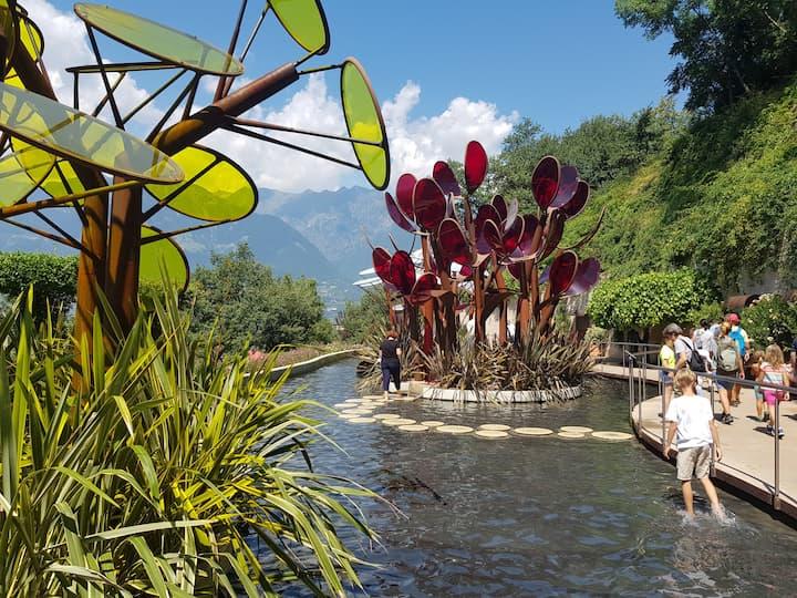 Il Giardino degli Innamorati ai Giardini di Sissi a Merano