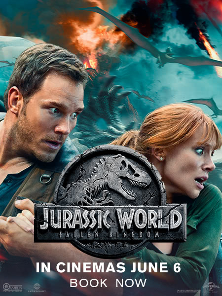 Jurassic World: Fallen Kingdom 2018