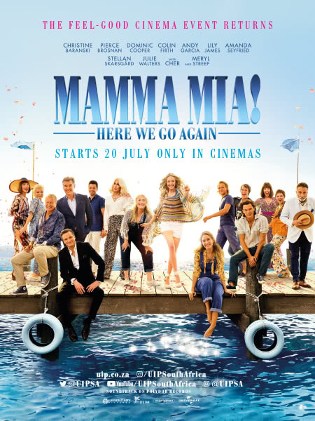Mamma Mia Here We Go Again 2018