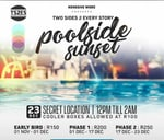 Two Sides 2 Every Story - Poolside Sunset : Pinetown, KwaZulu-Natal