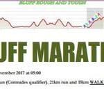 Bluff Marathon, 21km and 15km Walk : Fynnlands Combined Sports Club