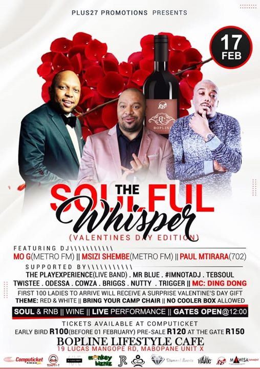 The Soulful Whisper (Valentine's Day Edition) : Bopline Lifestyle Cafe