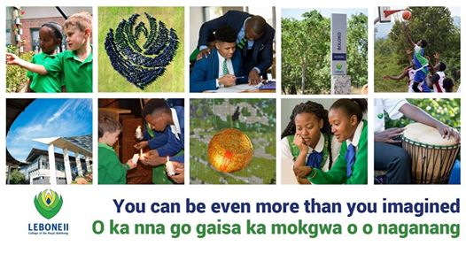 Admissions 2020 - closing date for second round applications : Lebone II - College of the Royal Bafokeng