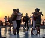 Sunset Tango at Sea Point Pavilion : Seapoint Pavalion Pools