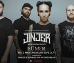 Jinjer live in South Africa - Mercury Live | Cape Town : Mercury Live
