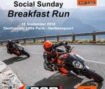 Social Sunday Breakfast Run : RAD Moto