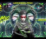 Cosmic Light FT Zeridium (FR), Terramoon, Acid Freaks : Wonderland Club