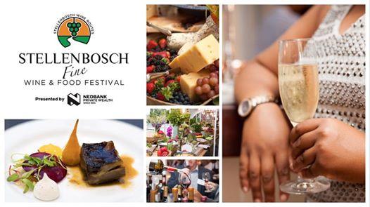 Stellenbosch Fine Wine and Food Festival Presented by Nedbank : Stellenbosch Town Hall