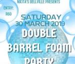 Double Barrel Foam Party : Nikita's Bellville Dance Club