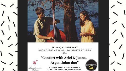 Ariel & Juana @Alliance Française Durban : Alliance Française de Durban