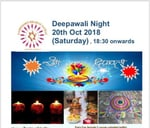 Diwali party 20th October 2018 (Saturday) : Taste of India Bryanston