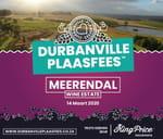 Durbanville Plaasfees 2020 : Meerendal Wine Estate