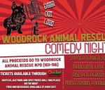 Bark Out Loud with Woodrock Animal Rescue at Parkers Comedy : Parkers comedy & jive