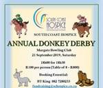 South Coast Hospice Annual Donkey Derby : Margate Bowling Club