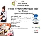 Classic - 4 Different Meringues used in 4 Sweets : FBI Chef School - JHB