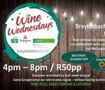 Wine Wednesdays at the Breytenbach Sentrum 28 August 2019 : Old Mutual Insure Wellington Wine Route