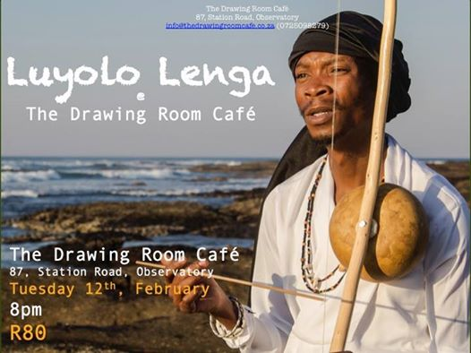 Luyolo Lenga at The Drawing Room Café : The Drawing Room Café