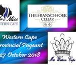 Mr & Miss / Mrs Western Cape 2019 : Franschhoek Cellar