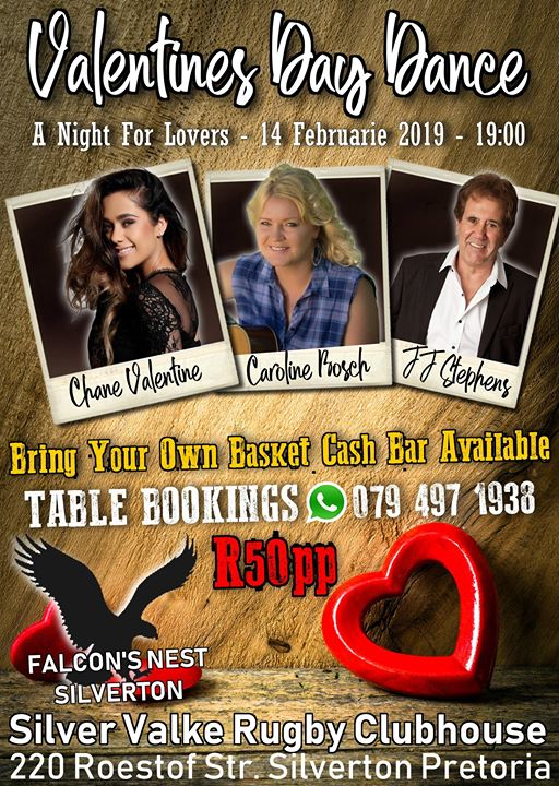 Valentines Day Dance - A Night For Lovers : Falcon's Nest Pub & Grill - Silverton