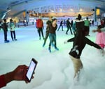 Foam Party on Ice : Durban Ice Arena