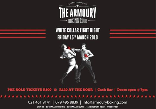 White Collar Fight Night : The Armoury Boxing Club
