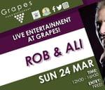 Rob & Ali LIVE at Grapes Benoni : Grapes Pub & Restaurant