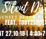 Silent Disco - Sunset Beach Party: 27 October feat. Toby2Shoes : Clifton 3rd Beach
