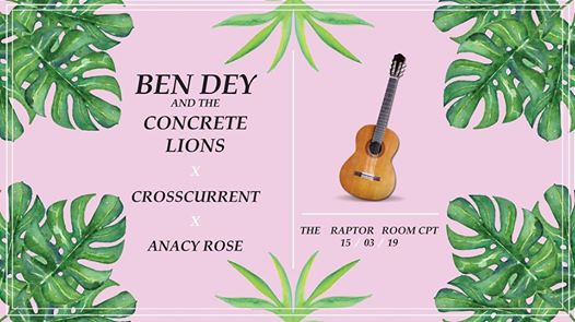 The Raptor Room Presents: BDCL x Crosscurrent x Anacy Rose : The Raptor Room