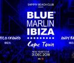 Blue Marlin Ibiza NYE at Shimmy Beach Club : Shimmy Beach Club