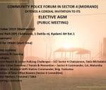 Sector Crime Forum (4) Elective AGM : Midrand Community Police Forum