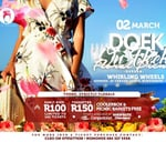 Doek On Fleek Florals Picnic Durban-SOLD OUT@Shoprite : Whirling Wheels Umngeni Road, Durban