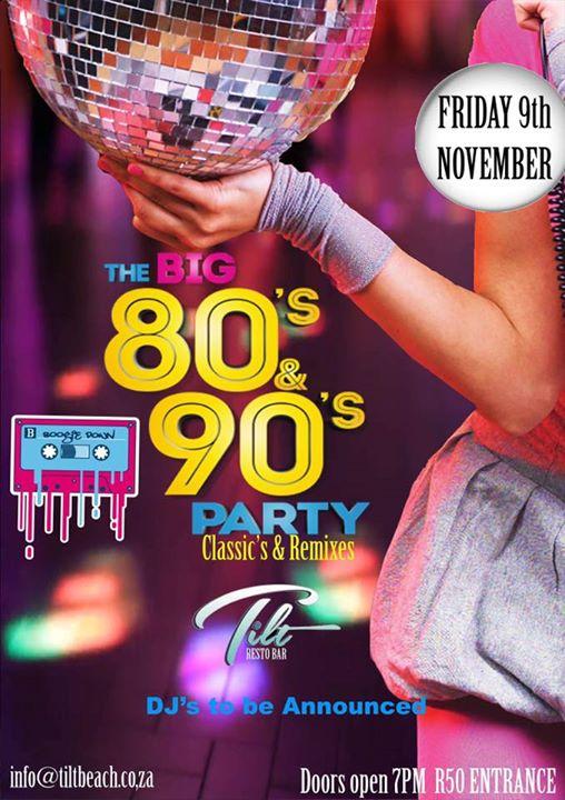 80's PARTY 🥂💃 : TILT Resto Bar