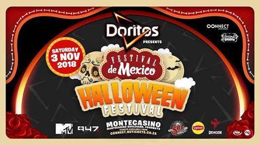 Doritos presents FDM Halloween Festival together with 947 & MTV : Montecasino