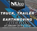 Truck, Trailer & Earthmoving Auction 24 Jan 2019 : Nuco Auctioneers