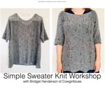 Simple Sweater Knit : Be Inspired