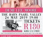 Demi Lee Moore Live : The Barn Theater & Event Venue