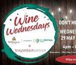 Wine Wednesday at the Breytenbach Sentrum 29 May : Breytenbach Sentrum
