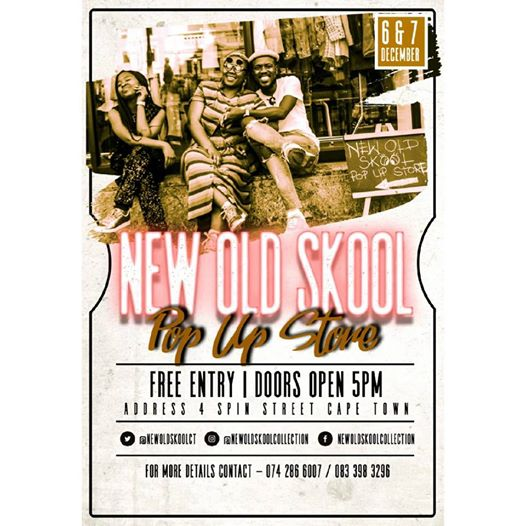 New Old Skool Pop Up Store : Afro's (Church Square)