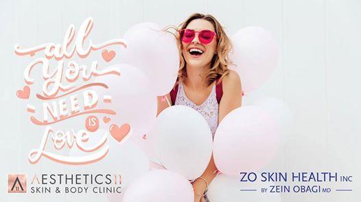 Valentine's ZO Facial Day : Aesthetics 11 Skin & Body Clinic