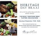 Heritage Day Braai : Benguela Cove