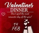 Valentine's Dinner : Café 41 Silver Lakes