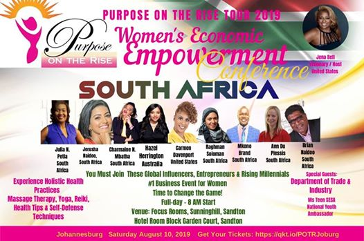 Purpose on the Rise Women's Economic Empowerment Conference : Focus Rooms