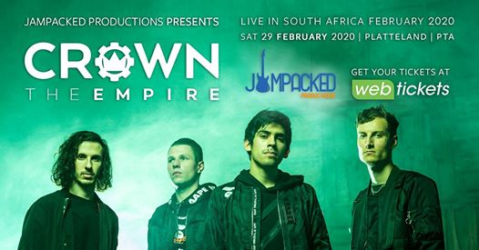 Jam Packed Productions: Crown The Empire Live in PTA 2020