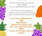 Healthy Eating for 1-5 year olds : De Charmoy Estate