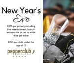 New Year's Eve at the Pepperclub Hotel : Pepperclub Hotel
