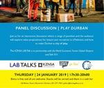 Talk 031 Lab Talk - Play Durban : Durban Global Shapers